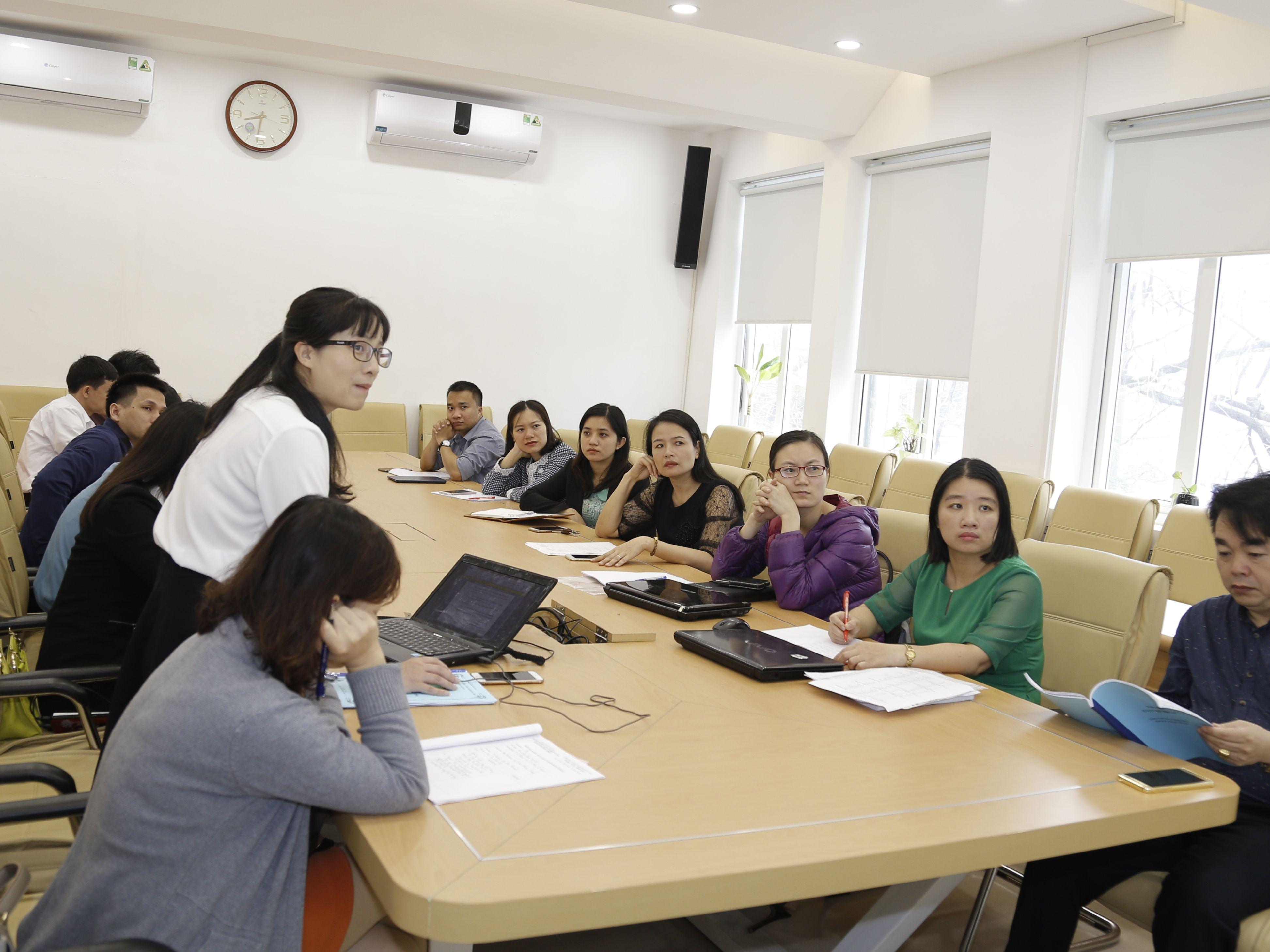 Hội thảo khoa học cấp khoa chủ đề: Tổ chức hoạt động nhóm trong giảng dạy học phần Đại số tuyến tính.