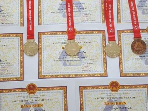 Trường Đại học Công nghiệp Hà Nội đạt thành tích cao trong kỳ thi Olympic Toán học sinh viên, học sinh toàn quốc lần thứ 27.