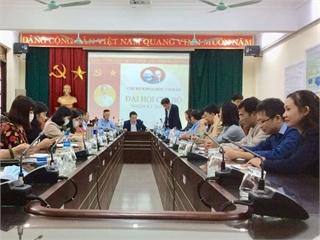 Đại hội Chi bộ Khoa học cơ bản nhiệm kỳ 2020-2023.