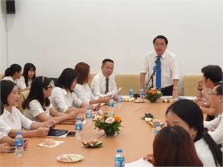 Khoa Khoa học cơ bản tổ chức hội nghị công chức viên chức năm học 2020-2021.
