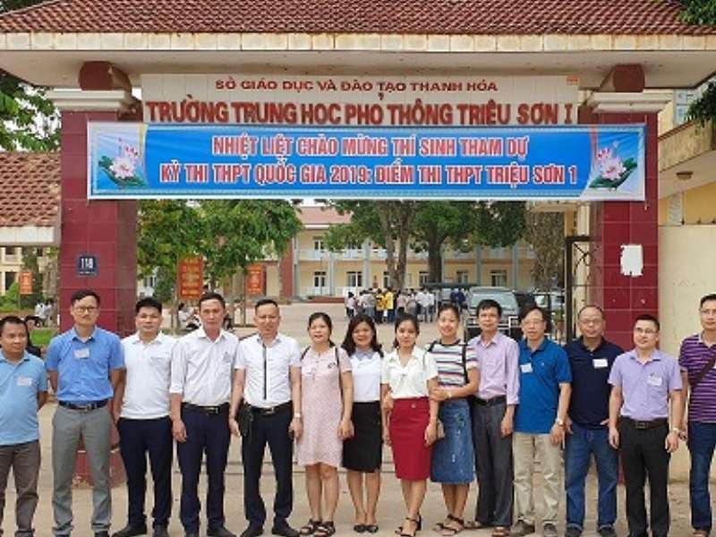 Giảng viên khoa Khoa học cơ bản đã hoàn thành xuất sắc nhiệm vụ tại kỳ thi THPT Quốc gia 2019 tại tỉnh Thanh Hóa.