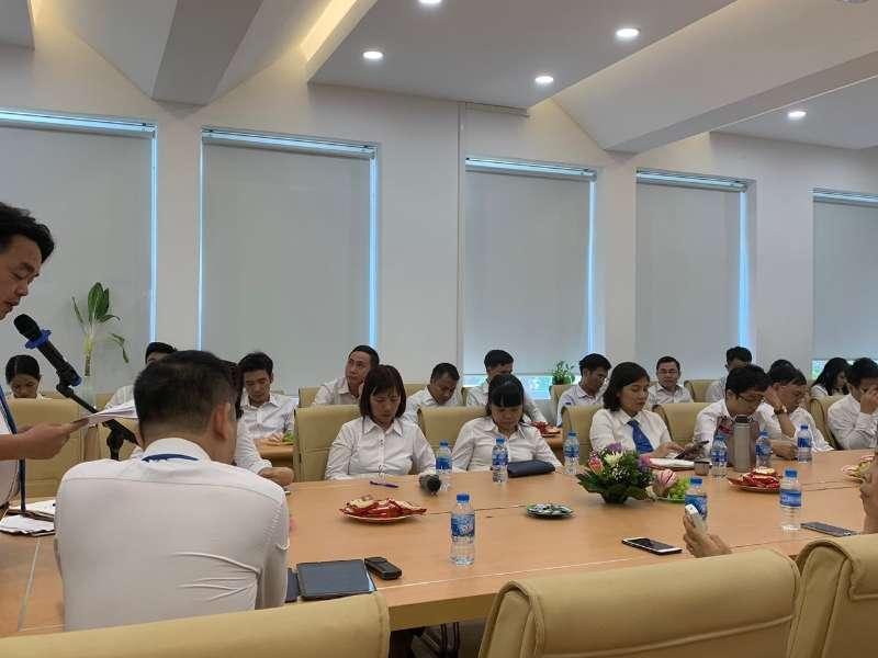 Hội nghị công chức viên chức, người lao động khoa Khoa học cơ bản năm 2019