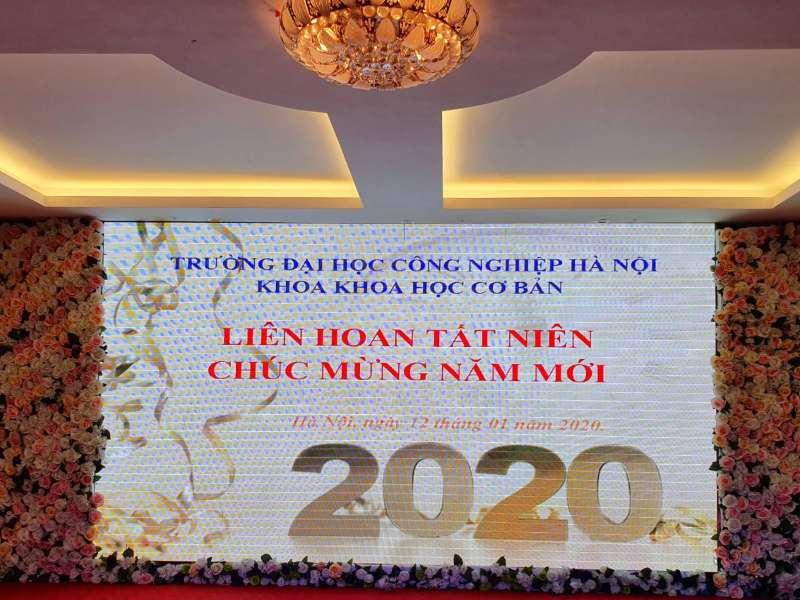 Tiệc tất niên xuân Canh tí 2020