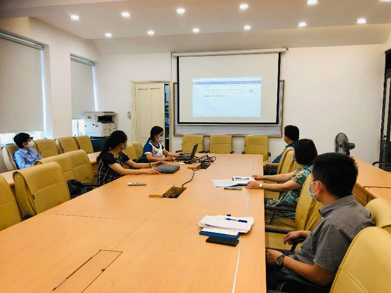 Nghiệm thu xây dựng bài giảng điên tử học phần Giải tích kinh tế (BS6010) cấp đơn vị.